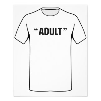 So Called Adult Quotation Marks Flyer