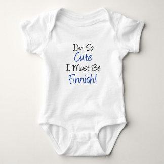 So Cute Must Be Finnish Tshirt