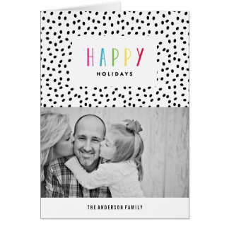 So Happy | Holiday Photo Greeting Card