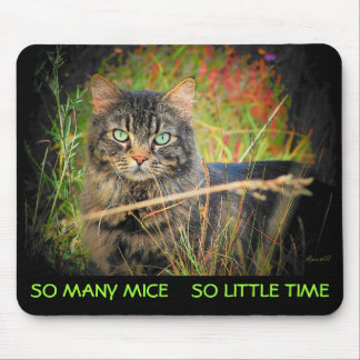 So Many Mice So Little Time Mouse Pad