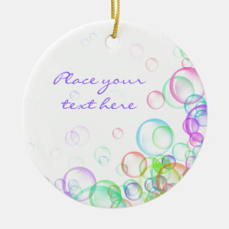 Soap Bubbles Christmas Ornament