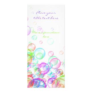 Soap Bubbles Full Color Rack Card