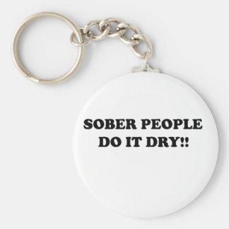 Sober Key Chains
