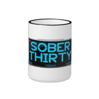 Sober Thirty Coffee Mug