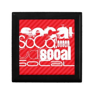 SoCal; Scarlet Red Stripes Gift Box