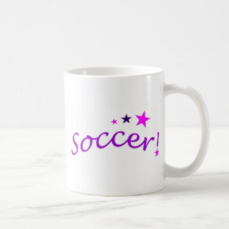 Soccer Arch with Stars Coffee Mugs
