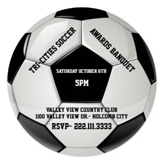 Soccer Awards Banquet Invitation