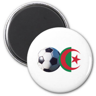 Soccer Ball Algeria Flag2 The MUSEUM Zazzle Magnets