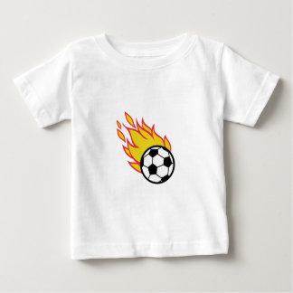 Soccer Ball Appliqué Baby T-Shirt