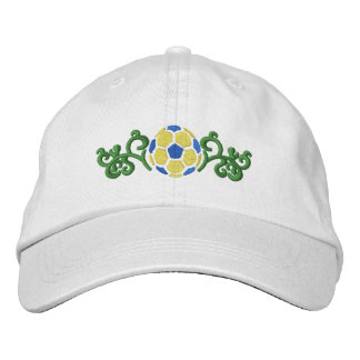 Soccer Ball Embroidered Cap