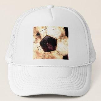 Soccer Ball Grunge Style Trucker Hat