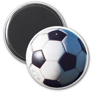 Soccer Ball jGibney The MUSEUM Zazzle Gifts Refrigerator Magnet