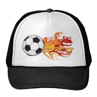 Soccer Ball of Fire Cap