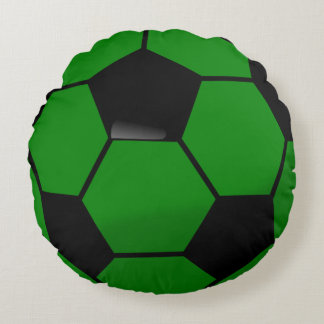 Soccer Ball Ole\ Round Pillow