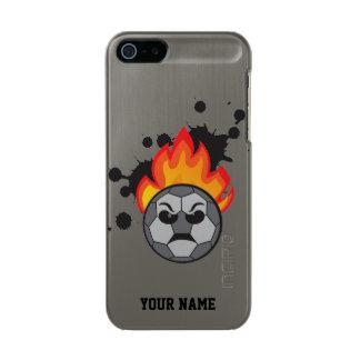Soccer ball on fire incipio feather® shine iPhone 5 case