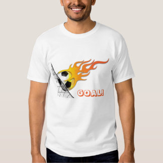 Soccer Ball On Fire T-Shirt