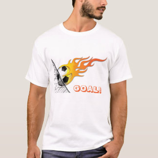 Soccer Ball On Fire T-Shirt