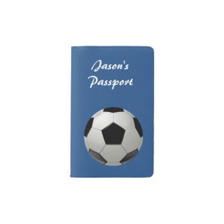 Soccer ball pocket moleskine notebook