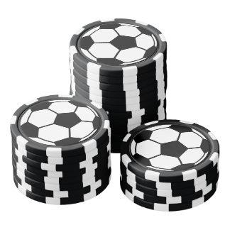 Soccer Ball Set Of Poker Chips