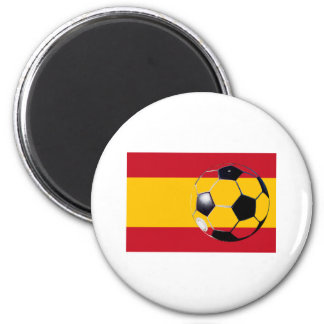 Soccer Ball Spain Flag2 The MUSEUM Zazzle Gifts Refrigerator Magnets