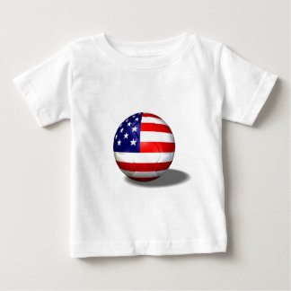 soccer ball usa baby T-Shirt