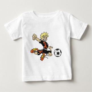 SOCCER BOY ORANGE RIBBON BABY T-Shirt