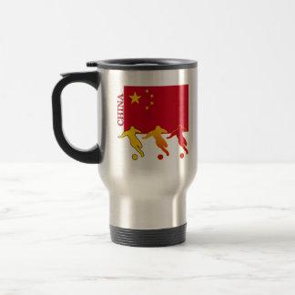 Soccer China Travel Mug