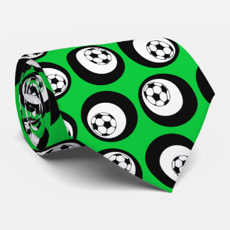soccer color customizable tie
