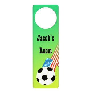 Soccer Door Knob Hangers