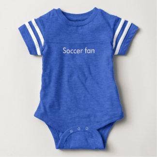 Soccer fan baby bodysuit