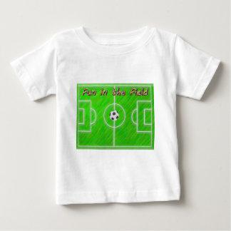 Soccer Field Baby T-Shirt