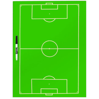 Soccer Field Tactics and Coach Dry Erase Board