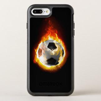 Soccer Fire Ball OtterBox Symmetry iPhone 8 Plus/7 Plus Case