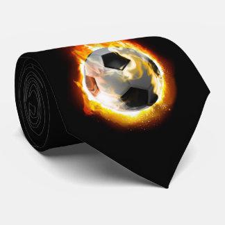 Soccer Fire Ball Tie