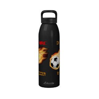 Soccer Flames Liberty Bottle Drinking Bottles