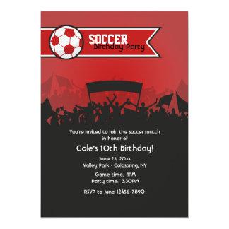Soccer Game Invitation
