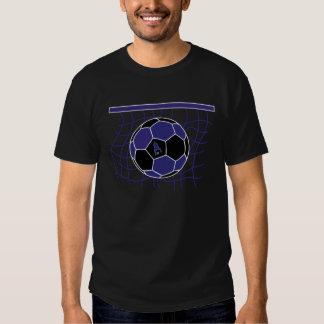 Soccer Goal by J-MO-NET-DK_BLU/BLK Tee Shirts