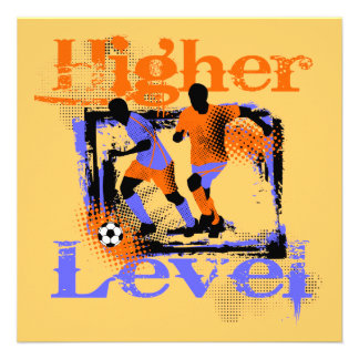 Soccer Higher Level Tshirts and Gifts Personalized Announcement