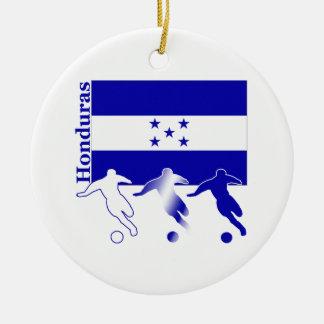 Soccer Honduras Christmas Ornament