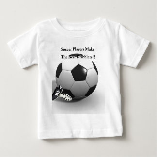 Soccer Players Dribble Best, Baby T-Shirt