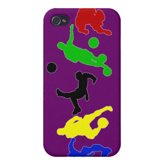 Soccer players   football sports fan iPhone 4 covers