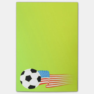 Soccer Post-it Notes