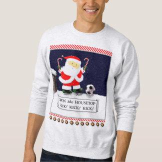 Soccer Santa Sweatshirt