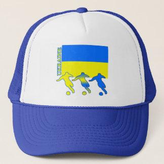 Soccer Ukraine Trucker Hat
