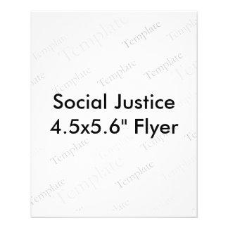 "Social Justice 4.5x5.6"" Flyer"