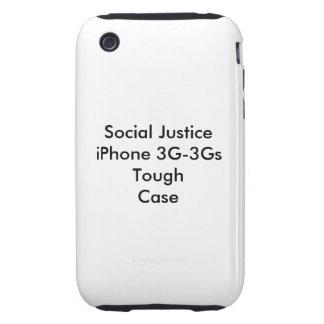 Social Justice iPhone 3G-3Gs Tough Case Tough iPhone 3 Cover