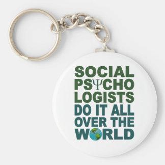 Social Psychologists keychain