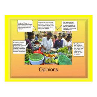 Social Studies Opinions Postcards