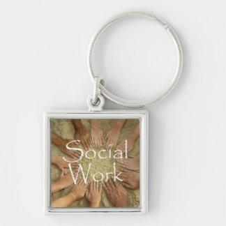 Social Work Key chain