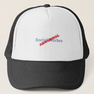 Social Worker / Abnormal Trucker Hat